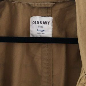 Old Navy Jackets & Coats - Old Navy classic tan color trench.  size Large.